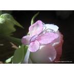 papillon rose pour déco de table