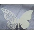 Marque place papillon argent
