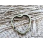 Cœur Cercle Porte clé, cadeau pour invité