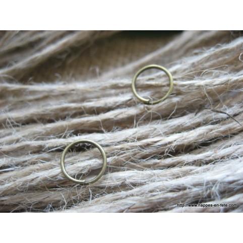 petit anneau pour accrocher vos charms à votre porte clé