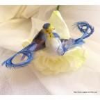 oiseaux bleu artificiels