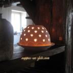 Photophore dôme pour la décoration de vos tables