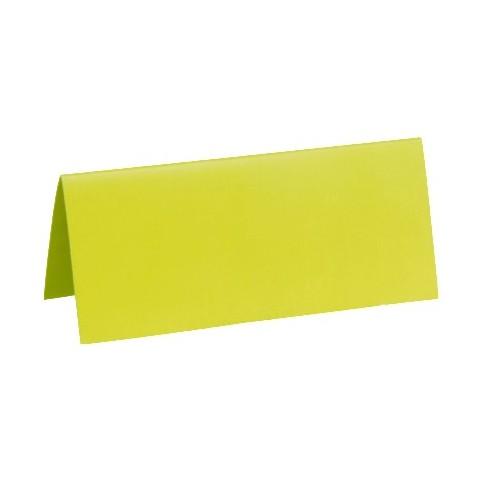 10 Marque place en carton vert pour votre déco de table