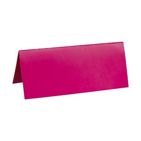 10 Marque place en carton - Rose pour votre déco de table