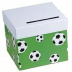 urne tirelire football pour mariage ou anniversaire