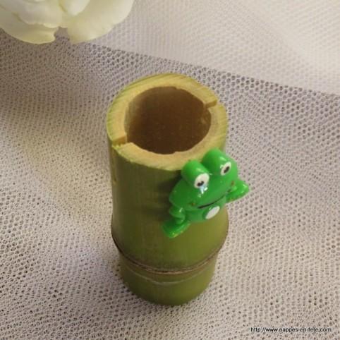 sujet grenouille petite figurine en résine