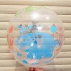 ballon avec animaux de la jungle pour anniversaire enfant