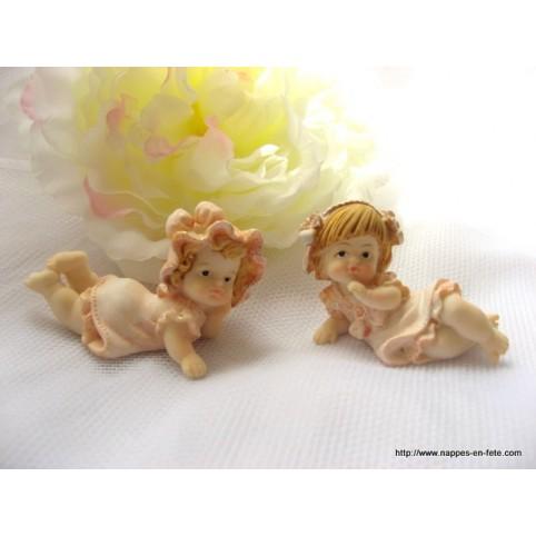 figurines bébé petite fille
