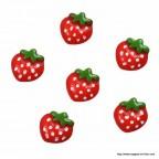 petite fraise en résine à coller ou à répandre
