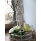 Figurine communiante, centre de table pour communion