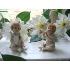 figurines anges fées, lot de 2