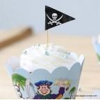cup cake pirates anniversaire enfant