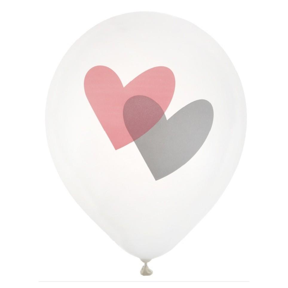 ballon avec coeurs pour st Valentin ou mariage
