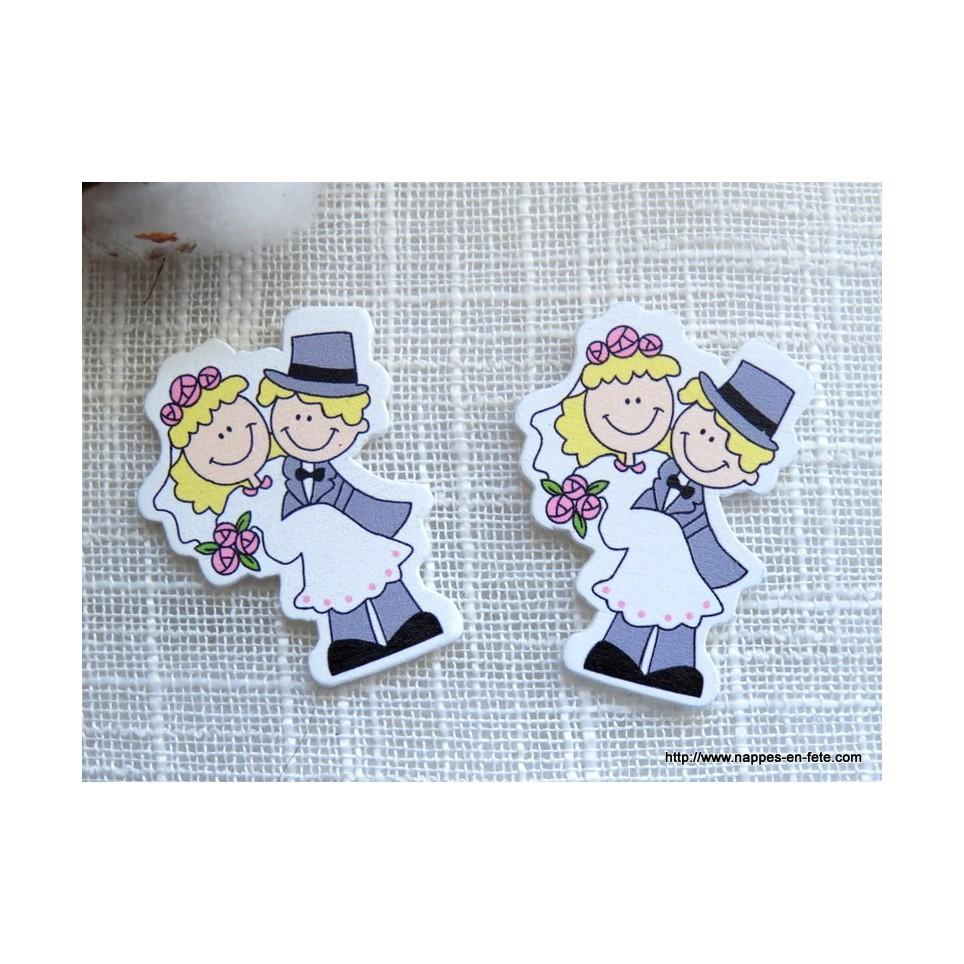 figurine couple de mariés