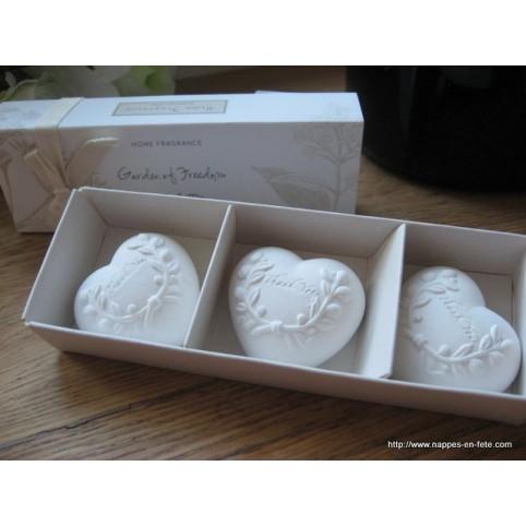 Coeur platre diffuseur de parfum d'armoire