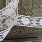 Ruban dentelle blanche blanc 3cm