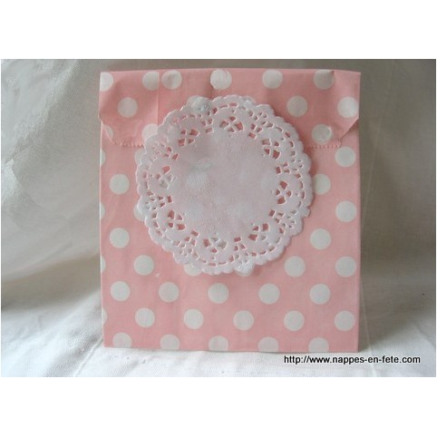 napperon papier dentelle