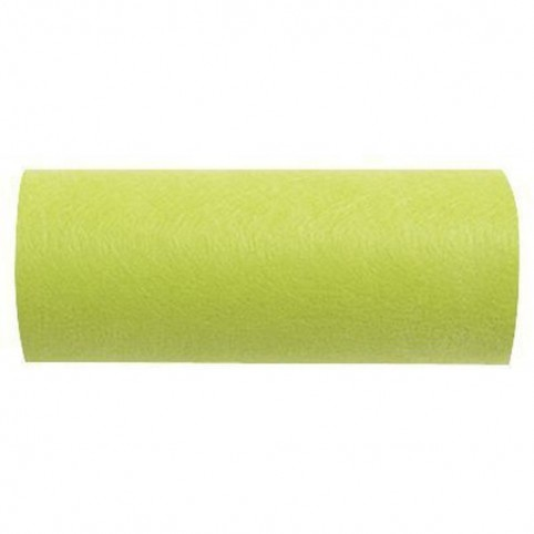 large ruban de table vert