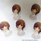 paillettes de table- figurine petit nuage blanc pour baptême ou naissance
