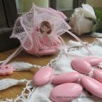 figurine petite fille pour communion ou baptême