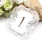numéro table de mariage de 1 à 10