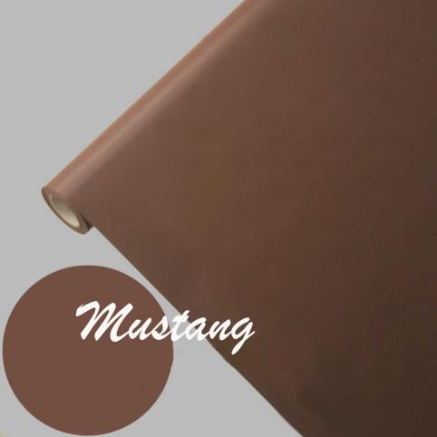 Nappe papier imprégné marron 1,15m