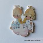 figurine anges fille et garçon pour communion ou baptême