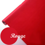 Nappe papier imprégné rouge 1,15m