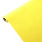 Nappe papier imprégné jaune citron 1,15m