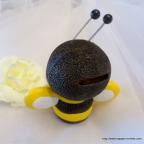 Tirelire abeille pour enfant, pour cadeau naissance ou baptême
