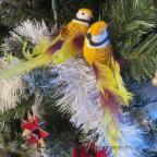 oiseaux artificiels grand modèle à longue queue