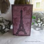 menu thème paris, décor paris