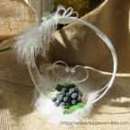 Porte alliance au raisin, thème vigne et vin
