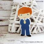 figurine communiant -cake topper