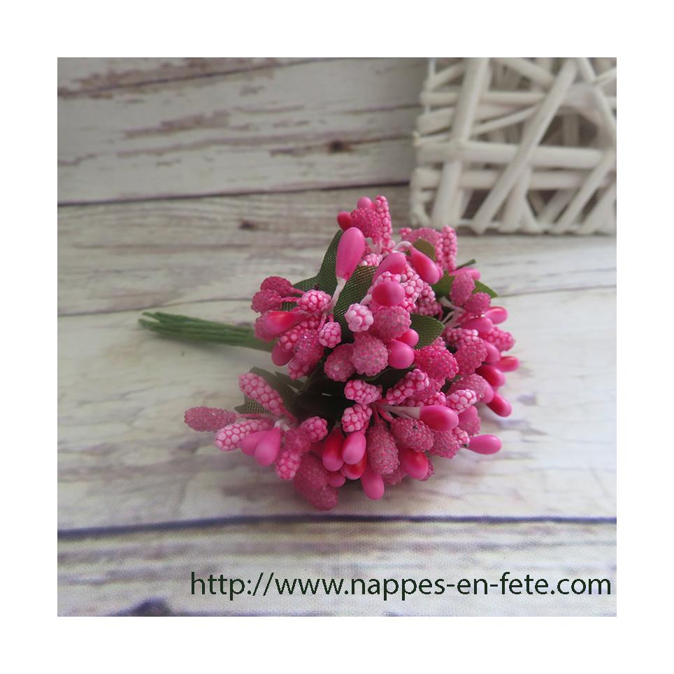Fleurs miniature, liens pour deco de table