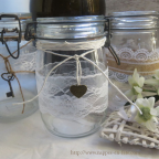 charms cœur vintage pour deco de mariage