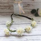 couronne de fleurs headband