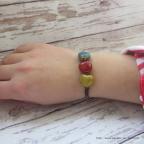 bracelet cœurs idée cadeau saint Valentin
