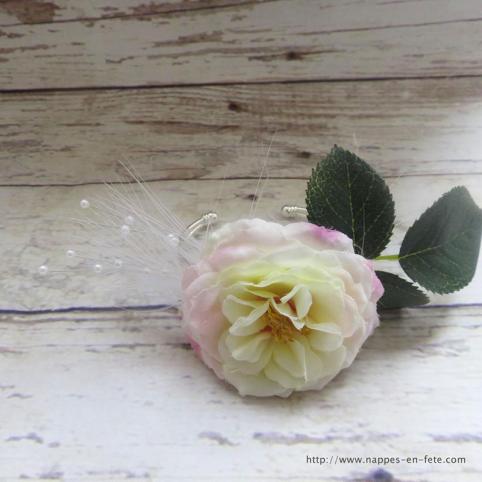 Bracelet fleur pour demoiselle d'honneur