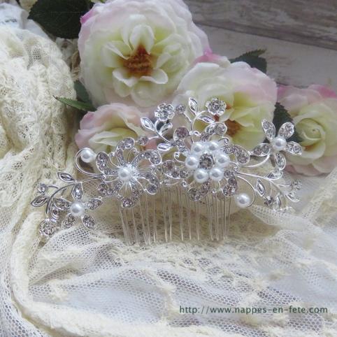 peigne décoratif-accessoire cheveux pour mariage