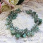 bracelet en pierre naturelle améthyste