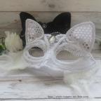 Masque vénitien, masque renard, masque loup