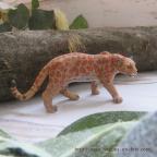 Figurine panthère léopard