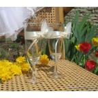 verres pour mariage