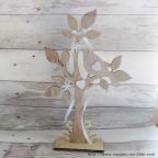 Porte alliance original arbre de vie en bois