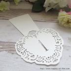 marque table ,carton découpé numéro table de mariage