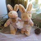 peluche lapins pour mariage