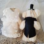 peluche couple de nounours pour mariage