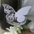 Marque place papillon pour mariage
