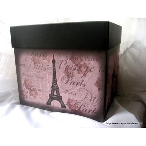 Urne, tirelire thème Paris
